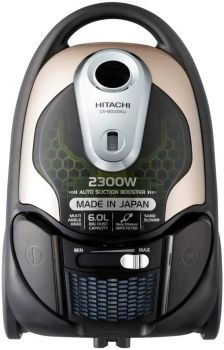 Hitachi Vacuum Cleaner, Drum Type, 21Ltr, 2200W, Black