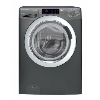 Candy Front Load Auto Washer 8 Kg Chrome door Smart WiFi Gray-GVF138THC3RZ1-19