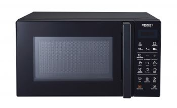Hitachi Microwave Oven, 20L, With Grill, Digital, 700W, Black  HMR-D2011-S6