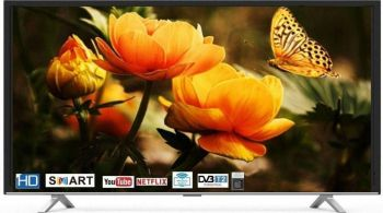 Hitachi 43 inch Full HD Smart LED TV with Netflix - Youtube & USB Direct Play - LD43HTS01F-CO